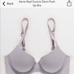 Aerie Demi push up bra 34DD